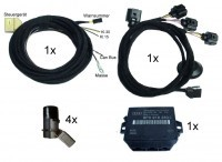 Komplett-Set Audi Parking System APS+ Heck für Audi A3 8V
