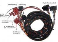 Seat Heating with Seat Adjustment - Harness - Audi A4 B5