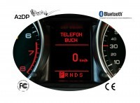 """FISCON Handsfree Bluetooth for Audi, Seat """"Basic"""" Mini ISO + BNS 4.0 Navigation"""