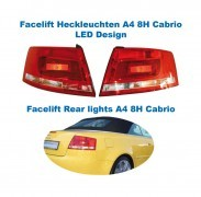 Facelift Heckleuchten LED original Audi A4 8H Cabrio