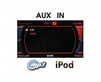AUX IN Nachrüst-Set Radio Concert / Symphony für Audi