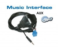 Music Interface Klinke - Mini ISO für Audi, VW, Seat, Skoda