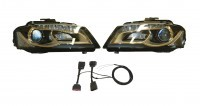 Bi-Xenon/LED Headlights Retrofit for Audi A3 8P - Right hand trafficdi A3 8