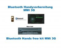 """Bluetooth Handsfree for Audi A5 8F Cabriolet with MMI 3G """"Bluetooth Only"""""""