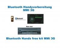 "Handyvorbereitung Bluetooth für Audi A5 8F Cabrio MMI 3G ""Nur Bluetooth"""