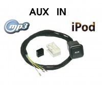Aux-In Jack - Retrofit - VW MFD2 (DVD-version)