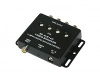 Video splitter - Booster - 1x In, 4x Out