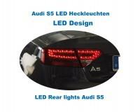 Komplett Set LED Heckleuchten Audi A5/ S5