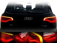 LED Rear Lights for Audi Q7 - retrofit