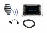 Voice control - Retrofit - VW RNS 510 - with microfon