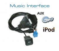 Music Interface - AUX - Mini ISO for Audi, VW, Seat, Skoda
