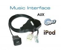 Digital Music Interface - AUX - Quadlock for Audi, VW, Seat, Skoda