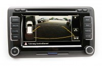 Harness for VW Golf 6 Plus rear view camera version Low