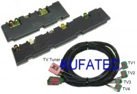 Nachrüst-Set TV-Antennenmodule Audi A6 4F - MMI 3G
