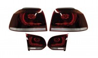 Bundle LED Rear Lights for VW Golf 6 VI R - Xenon with DRL