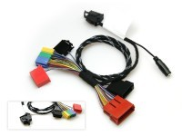 """Cable set spare part for the FISCON hands-free kit """"Basic"""" Mini ISO for Audi, Seat"""