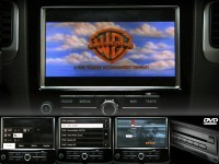 Complete set DVD changer for VW Touareg 7P - TV reception available from factory