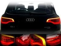 Upgrade Facelift LED Heckleuchten für Audi Q7 4L