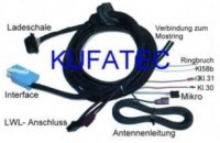 Motorola Fixed Telephone - Harness - Audi A8 4E - MMI 2G