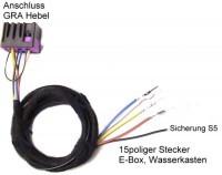 Kabelsatz GRA (Tempomat) Audi A8 4D
