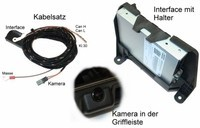 Complete Set APS Advance rearview camera for Audi A6, A7 4G - from my. 2012