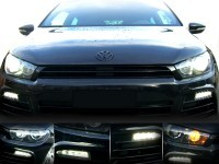 LED Daytime Running Lights for VW Scirocco 1K