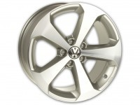 Original VW Scirocco Alloy Wheel Titanium 18 inch