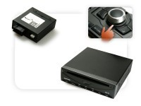 DVD Player USB + Multimedia Adapter Fiber optic with control - MMI 2G without rear view camera
