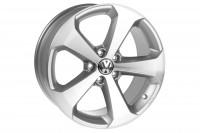 Original VW Scirocco Alliage Roue Titane 18 pouces