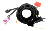 BNS 3.X, 4.X (small) Navigation System Harness for Audi TT 8N