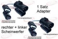 Facelift Headlights - Adapter - BMW 5er E39