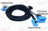 Digital/Analog TV- Harness- BMW 5 er E39, 3er E46
