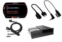Nachrüst-Set AMI (Audi Music Interface) für Audi A5 8T MMI 2G - Mini USB