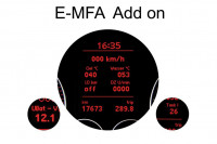 E-MFA Anzeige von Ladedruck, Öltemperatur uvm. im Tacho