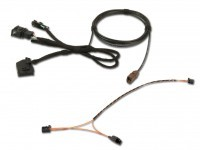 Cable set FISCUBE Most MMI 2G - rear view camera available