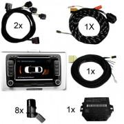 Set APS+ plus (optische Anzeige MMI/Radio) Front + Heck für Audi Q5