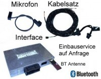 "Bluetooth Handsfree w/ SDS- Retrofit -Audi A6 4F-""Bluetooth Only"