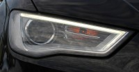 Complete Bi-Xenon Headlights - Retrofit with daytime running light for Audi A3 8V