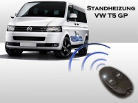 Auxiliary heating for VW T5 GP
