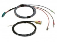 Harness operating unit Auxiliary heating VW T5 GP