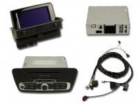 Nachrüst-Set MMI3G Navigation plus für Audi Q3 8U - passiv Lautsprecher, Bluetooth