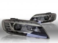 Bi-Xenon Headlights LED DTRL - Audi Q7 4L - L&R - w/o corning light