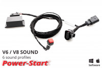 Sound Booster Pro Active Sound for Audi A6 4G, A7 4G - without Bluetooth