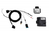 Universal complete kit Active Sound incl. Sound Booster for VW, Seat, Skoda - inside installation