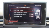 Lane changing assistant (Audi side assist) for Audi A7 4G