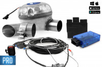 Universal complete kit Active Sound incl. Sound Booster for BMW E Series - outside installation - PRO