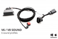 Sound Booster Pro Active Sound for Porsche Macan 95b - without Bluetooth