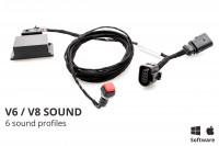 Sound Booster Pro Active Sound per Porsche Macan 95b - senza Bluetooth