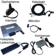 """Bluetooth Handsfree - Retrofit - Audi Q7 4L- """"Complete"""" - MMI 2G"""
