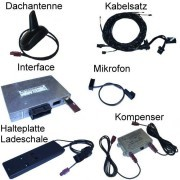 "Bluetooth Handsfree with SDS - Retrofit - Audi A6 4F-""Complete"""